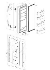 refrigerator parts samsung refrigerator parts diagram rf4287hars