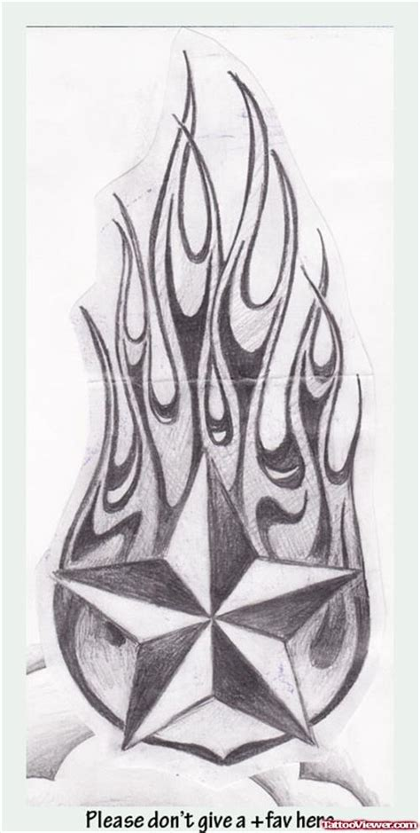 stars and flames tattoo designs 23 and designs and ideas