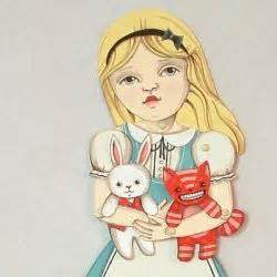 alice in wonderland articulated pap alice in wonderland articulated paper doll for