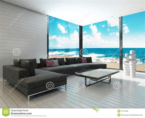 Bedroom Window Seat Ideas luxury black couch in a maritime style living room with