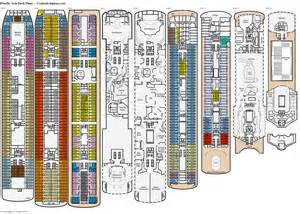 2 deck plan pacific deck plans diagrams pictures
