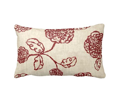what size pillows for couch 7 sizes available throw pillow cover decorative pillow red