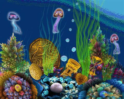 underwater wallpaper gif animated underwater treasure by wolfepaw on deviantart