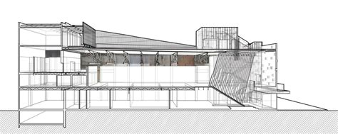 ltl section gallery of arthouse at the jones center ltl architects 17