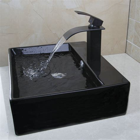 bathroom basin sink luxury black porcelain ceramic artistic bathroom basin