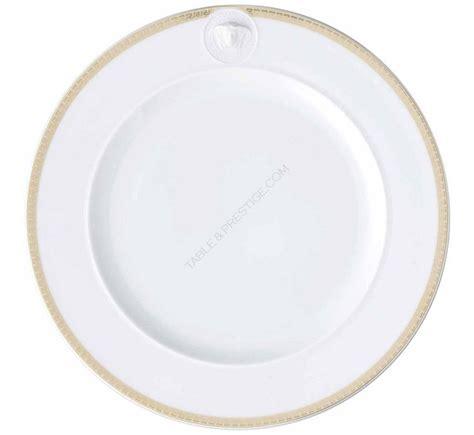 Versace Logo Plate Shopper by 6 X Ikarus Med Meandre D Or Plate 22 Cm Meandre D Or