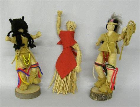 corn husk dolls price 3 iroquois corn husk dolls