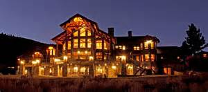 luxury listing mammoth lake log cabin estate