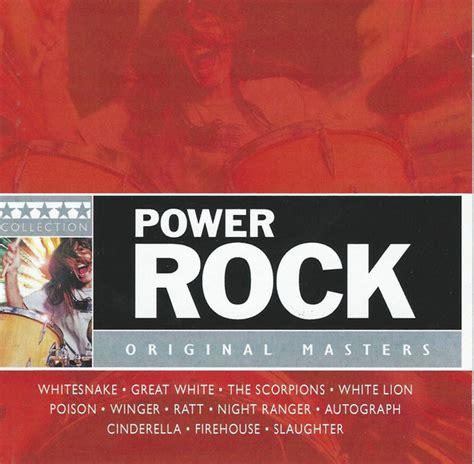 format cd original various power rock original masters cd at discogs