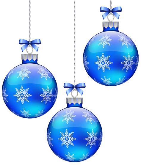 blue christmas decorations clipart   cliparts  images  clipground