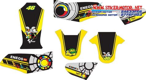 Sticker Striping Motor Stiker Yamaha Mx King Sun And Moon Spec A Striping Motor Yamaha Rx King Sun Moon Stikermotor Net
