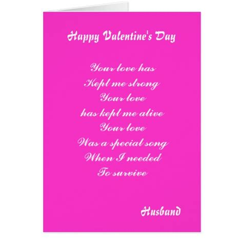 S Day Card From Husband Templates by Husband S Day Greeting Cards Zazzle