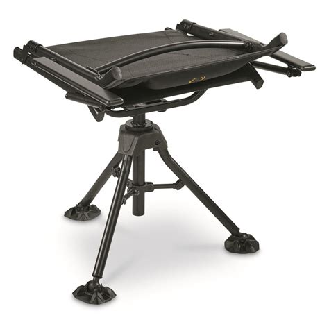 Bolderton 360 Comfort Swivel Hunting Blind Chair With Swivel Blind Chair