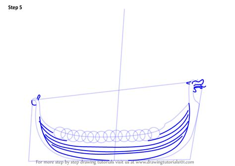 how to draw a viking boat step by step learn how to draw a viking ship boats and ships step by
