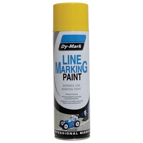 marking spray paint dy 500g line marking paint yellow bunnings warehouse