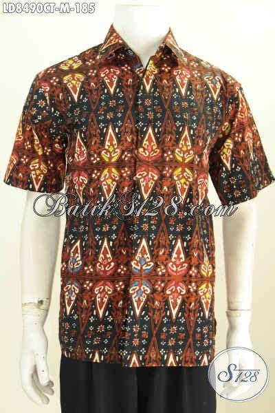 Kemeja Batik Pria Eksklusif Motif Unik S26 foto model baju batik pria size m kemeja batik lengan