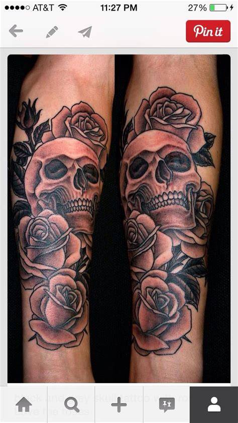 badass rose tattoos badass skull and roses ink portraits