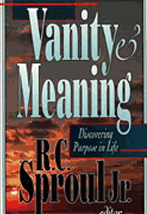 Vanity Bible Meaning Products