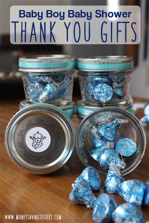 Thank You Baby Shower Gifts by Baby Boy Shower Thank You Gift Around 1 00 Each Money Saving