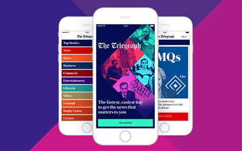 newspaper layout app the telegraph launches new app to quot catch up quot with mobile