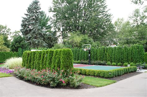 Oakland County Courts Search Sports Court Landscape Design Oakland Countypellegata Landscape Design