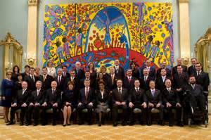 what is the of the cabinet in canada cabinet of canada at rideau hon raitt