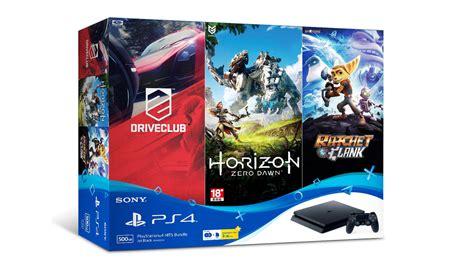 Bd Horizon Dan Drive Club sony playstation 4 hits bundle akan dijual pada harga rm 1349 dengan tiga permainan amanz