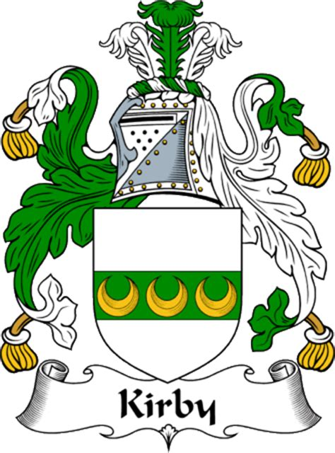 the kirbys of new a history of the descendants of kirby of middletown conn and of joseph kirby of hartford conn and of richard kirby of sandwich mass classic reprint books englishgathering the kirby coat of arms family crest