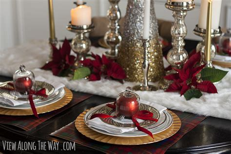 christmas centerpiece and tablescape ideas