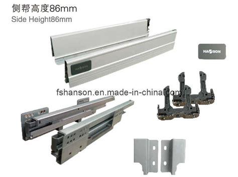 Furniture Drawer Hardware china furniture hardware drawer slide system hs100 100 china soft self closing 3 fold