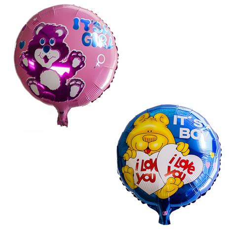 wholesale balloons wholesale 18 quot boy baby shower helium mylar foil balloon supply ebay