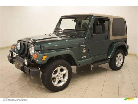 2000 forest green pearl jeep wrangler 4x4 17704243 photo 3 gtcarlot car color