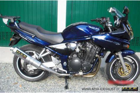 Motorrad Auspuff Testbericht by Suzuki Bandit 1200 Sportauspuff Motorrad Bild Idee