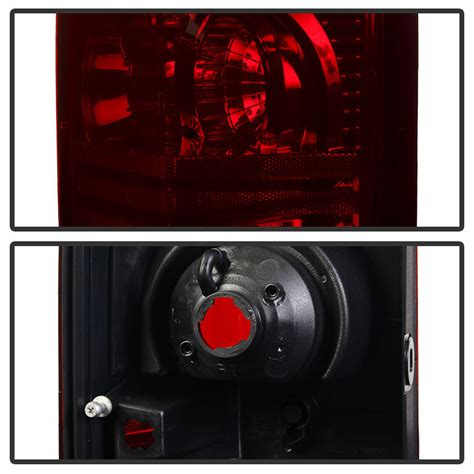 jeep commander brake light 2006 2010 jeep commander red smoked replacement tail lights