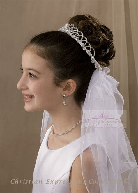 communion hairstyles buns first communion hairstyles with veil google search
