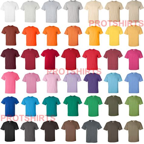 gildan tshirt colors gildan ultra cotton t shirt 50 colors s 3xl 2000