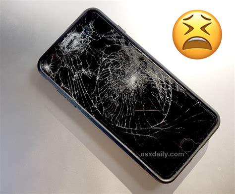broken iphone screen heres   repair   fixed