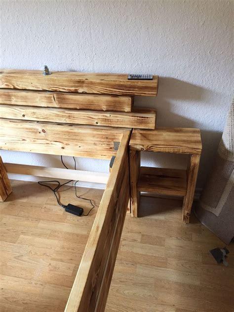 bett verschönern schlafzimmer im wald design