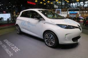 Nissan Renault New Renault Zoe Paves The Way For Longer Range Nissan Leaf