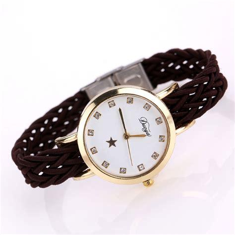 Jam Tangan Fashion Wanita duoya jam tangan fashion wanita dy069 black