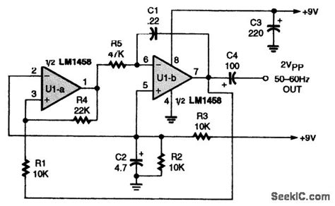 triangle waveform generator basic circuit circuit