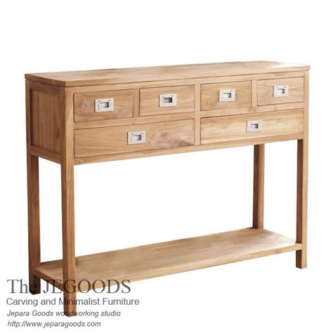 Console Table Meja 187 londo baru console table teak minimalist manufacturer indonesia