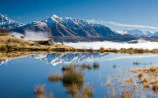 Landscape Pictures Nz Wallpapers Snow Mountains Wallpapers
