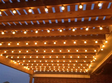 pergola lights pergola lighting pergola lights