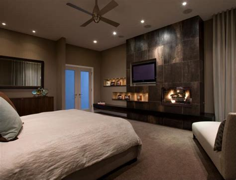 fireplace in master bedroom bedroom cool modern master bedroom with fireplace stone