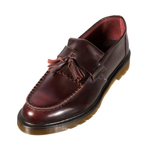 loafers doc martens dr doc martens 14573601 adrian mens classic shoe burgundy