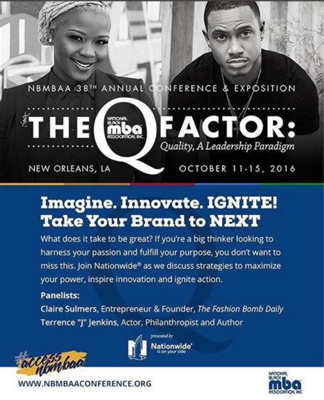 National Black Mba Discount Code by S October Speaking Engagements With The