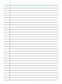 ruled paper word template pin college ruled paper template on