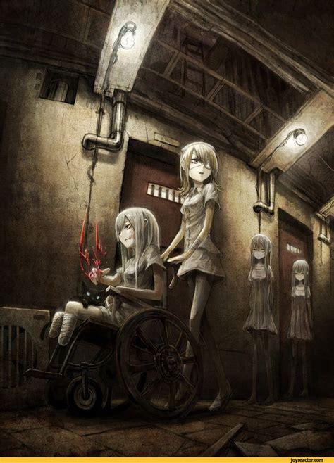 anime horror art beautiful pictures anime nightmare hospital horror