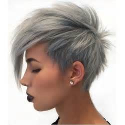 hairstyles grey hair funky 20 cute pixie cuts short hairstyles for oval faces